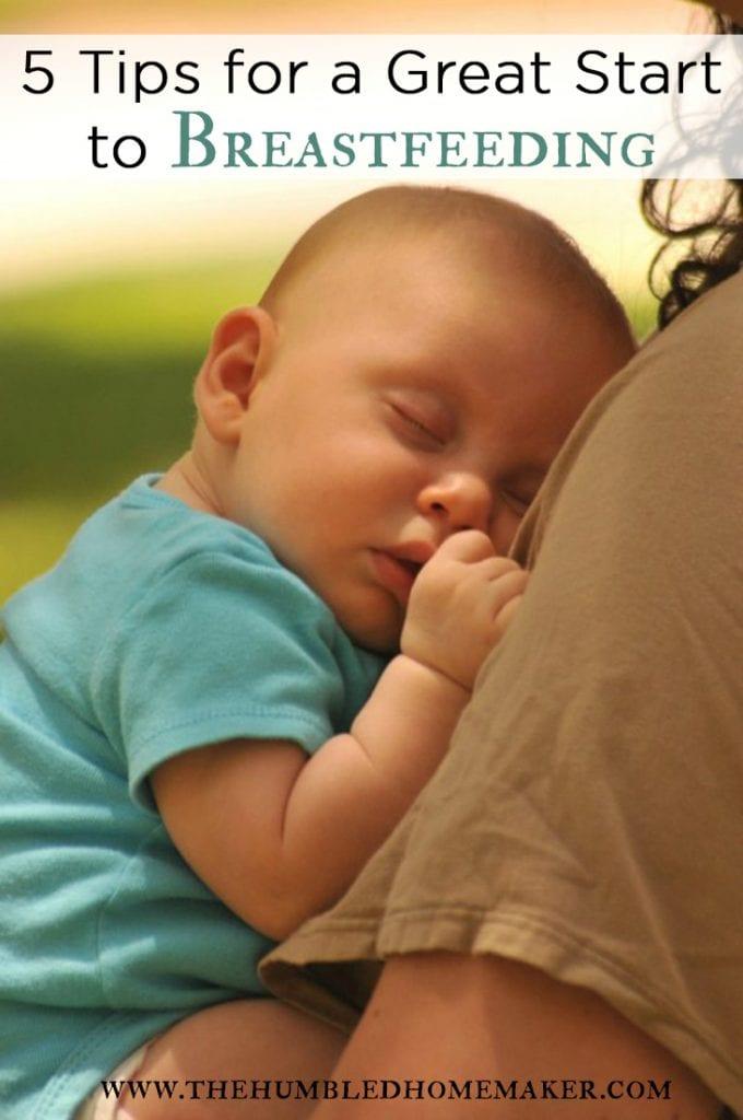 5 ways to help you prepare for breastfeeding