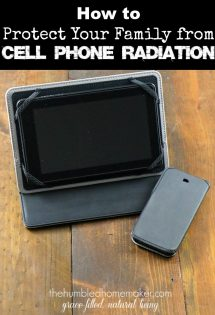 Today, we will explore how to protect your family from cell phone radiation.