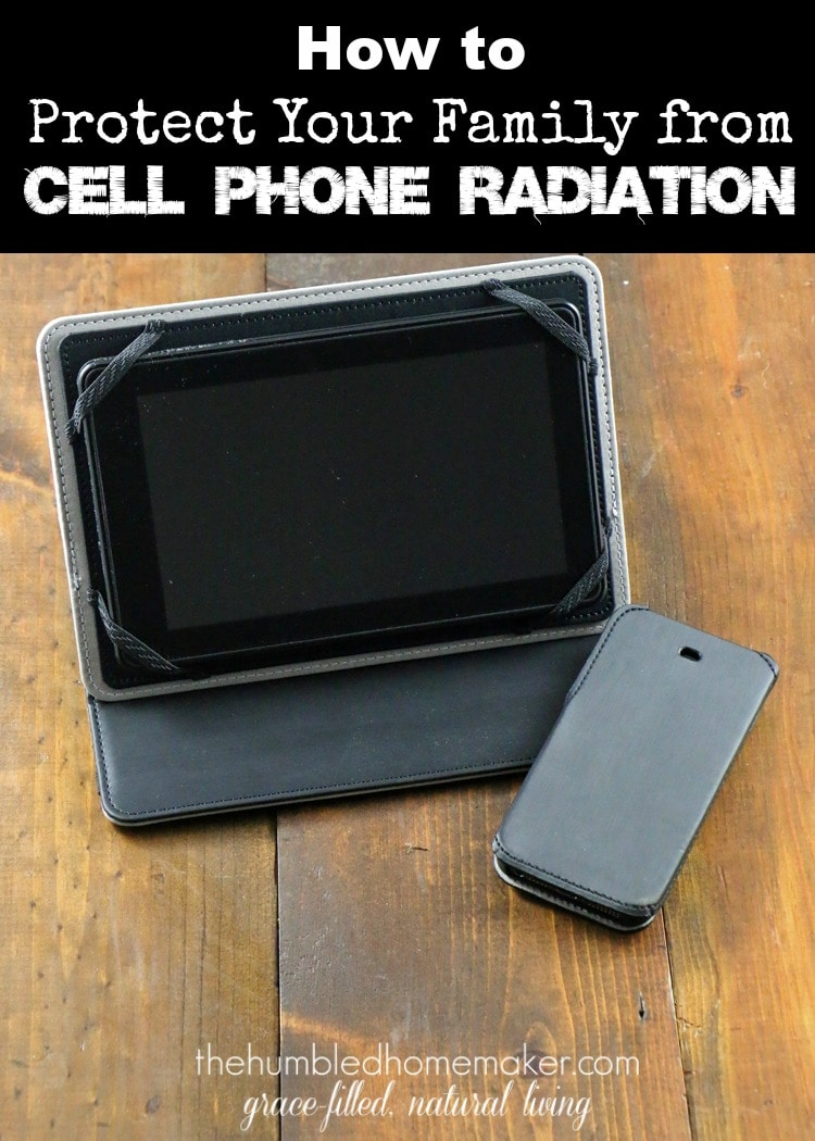 I had NO idea how many risks were associated with cell phone usage! This post on how to protect your family from cell phone radiation is a MUST READ!
