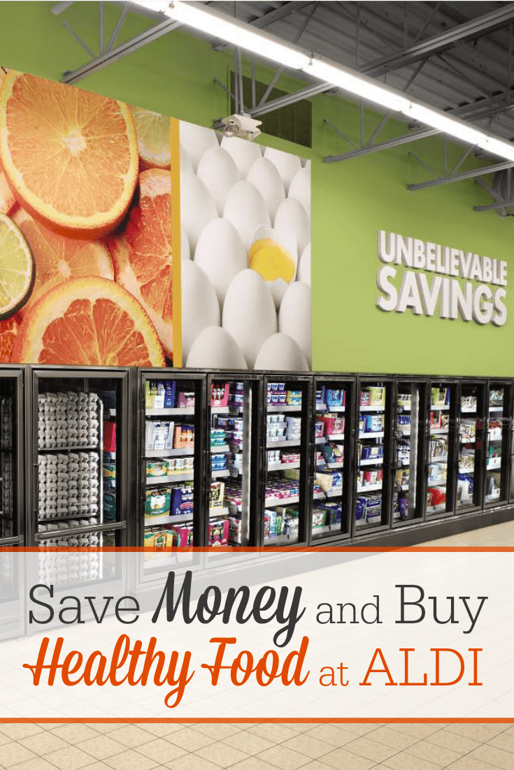 ALDI is the best grocery chain for saving money on natural and organic foods! Why shop at pricey Whole Foods when you can find such a great selection of healthy food at Aldi for a fraction of the price?