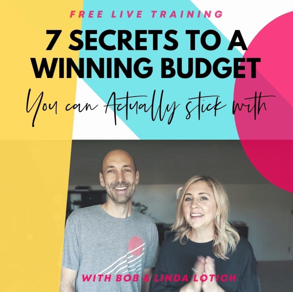 free budgeting workshop