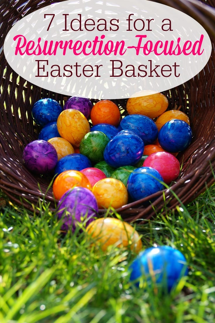 7 ideas for a resurrection focused easter basket humbled homemaker want to help your children learn what the easter holiday is really about here are negle Images