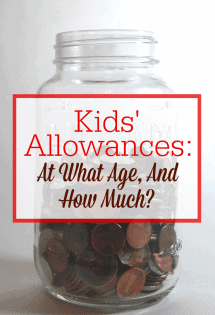 Kids' Allowances: At What Age, And How Much?