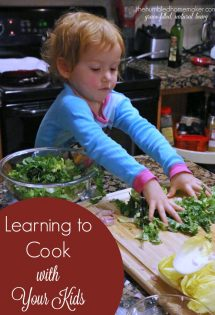 I didn't learn how to cook until I was married, and, if truth be told, I feel like I'm still learning. If you are still learning how to cook, the exciting part is that now you can learn to cook with your kids! Here are 4 ways I'm learning how to cook with my kids!