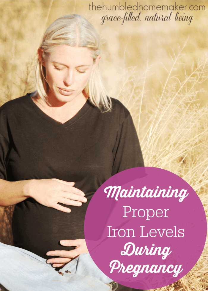 If you struggle with anemia when pregnant, this post is a must-read! Lots of great tips for maintaining iron levels while pregnant (or even if you're not pregnant but need to boost your intake and absorption of iron!)