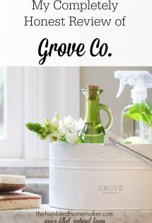 My Completely Honest Review of Grove Co.