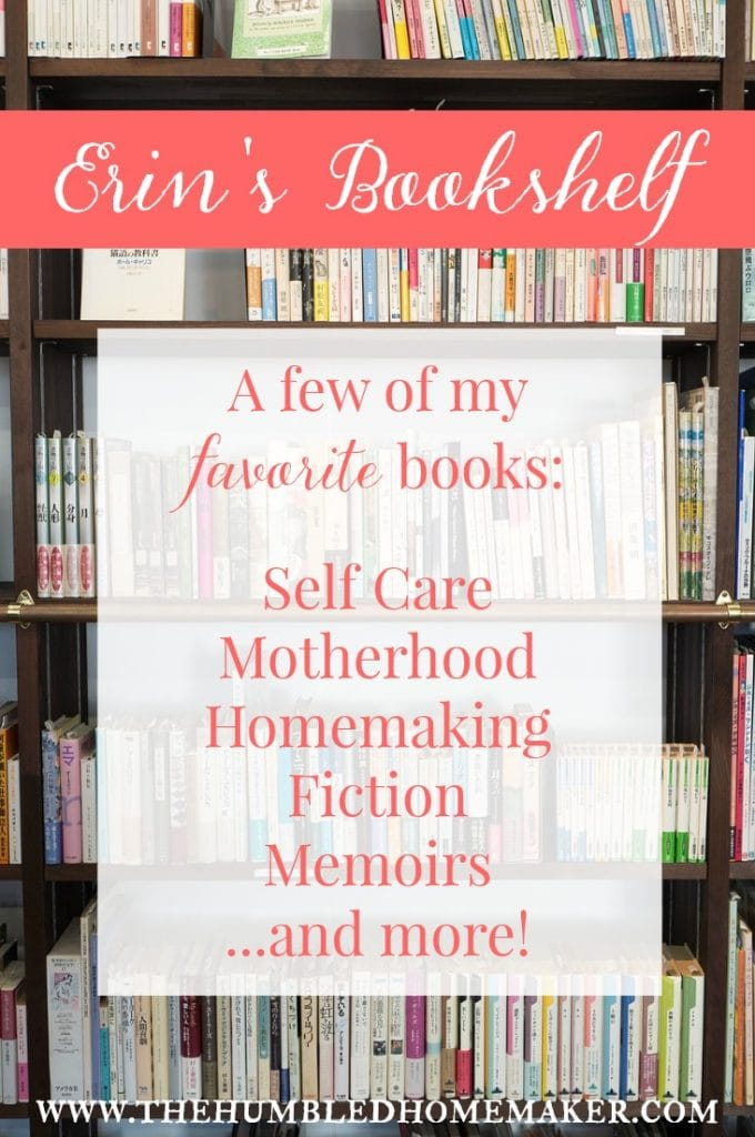 My bookshelf has tons of memoirs, books on motherhood, parenting, health, self care, business, and more! These are books I read and loved over the last couple of years.