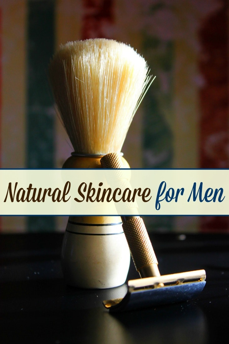 If you want your man to switch to using natural skincare products, look no further! This post will give you ideas on natural skincare for men!