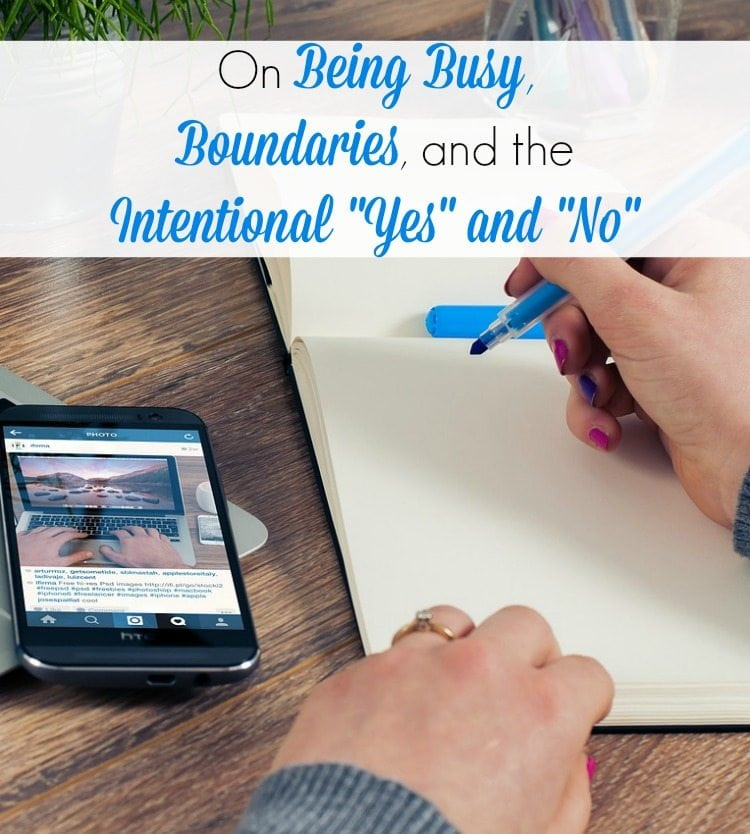 If you're feeling overscheduled, overworked or overwrought, this message is for you. Being busy might seem like a way of life in our American culture, but we can learn how to be busy with the right things!