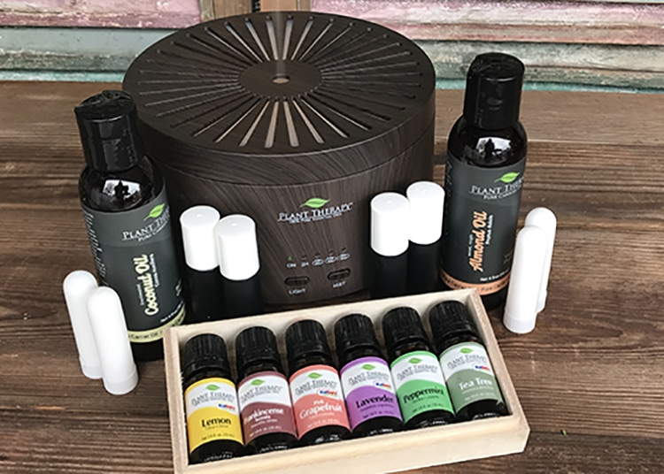I know you're going to love today's giveaway: a HUGE Plant Therapy Essential Oils Starter Set! Our family uses essential oils in our home every single day, and Plant Therapy is one of our favorite brands to use. They are high-quality and affordable, which makes them perfect for the grace-filled, natural homemaker!