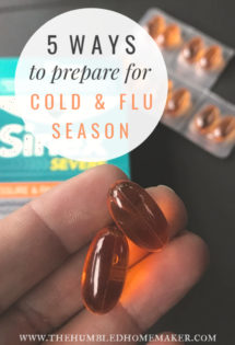 It's possible to prepare for cold and flu season! Check out the following tips to make sure your family is ready for seasonal illnesses this year.