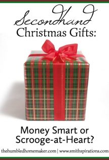 Buying Christmas gifts can be adifficult predicament for families on a budget. Purchasingthem secondhand can make theholiday more doable, but are secondhand Christmas gifts really okay to give?