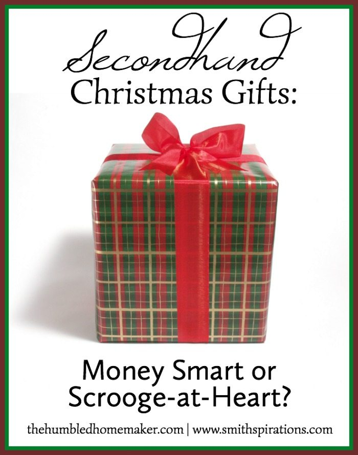 Secondhand Christmas Gifts | The Humbled Homemaker