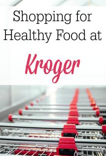 You don't have to spend a fortune shopping at health food stores! Here's a great list to get you started shopping for healthy food at Kroger!