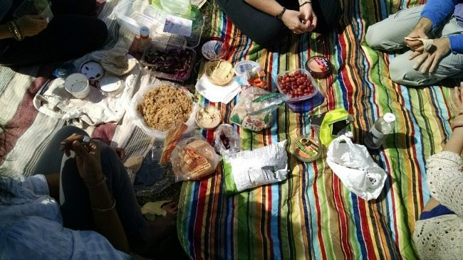 Taking family picnics instead of going through the drive through saved my family over $1500 in one year! Check out these picnic ideas to save big money!