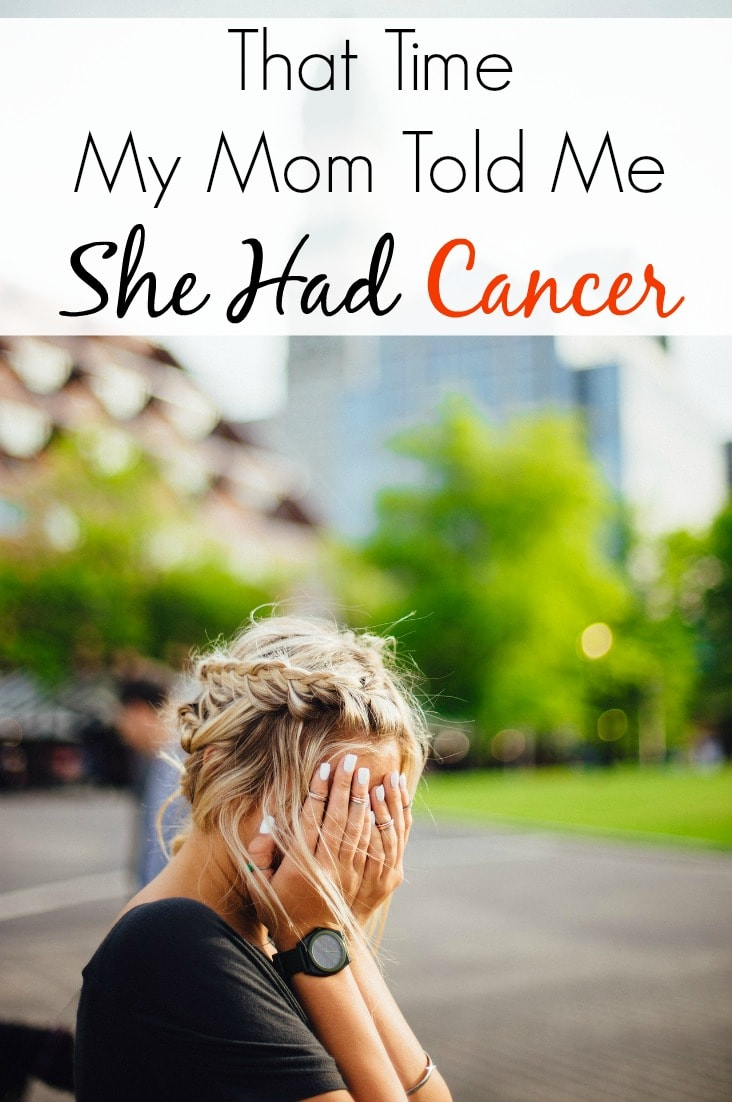 I will never forget the day my mom told me she had cancer. I hope our story can encourage others going through a cancer diagnosis as well.
