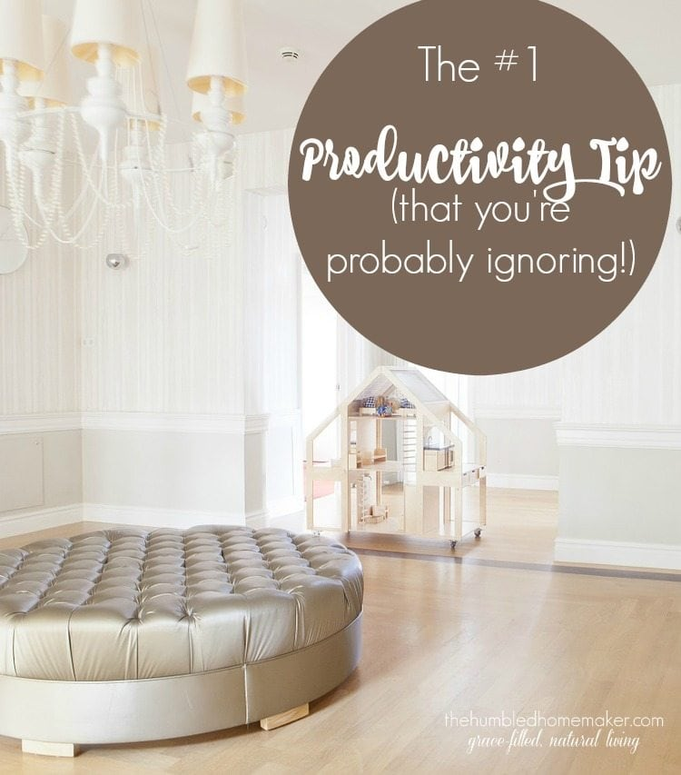 This productivity tip is simple and free. Yet I ignored it for years! This was a gamer changer for me, and it can be for you, too!