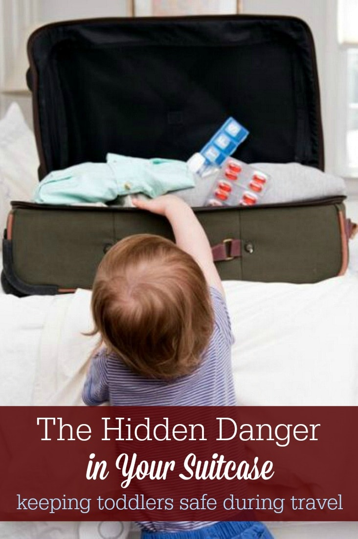 Keeping toddlers safe during travel is trickier than you might think, so check your suitcase for hidden dangers and know what to do in an emergency.