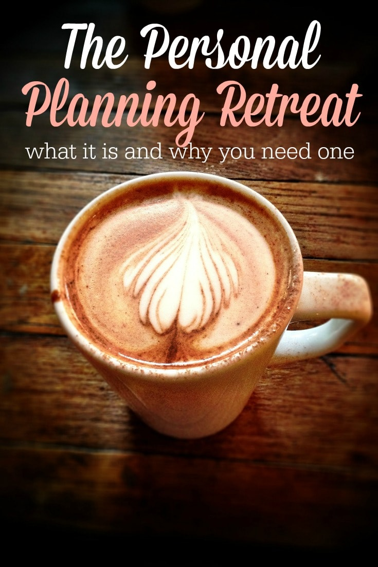 I'm so doing this! I need to get out of the house! A personal planning retreat sounds perfect!
