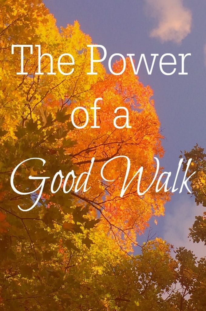 A good walk can infuse more energy into you than you ever imagined--and improve your mood!