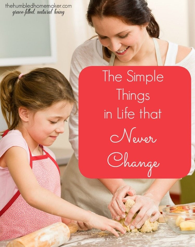 There are some things in life that never change from generation to generation. As the holidays approach and the busiest time of the year arrives, take time to reflect on those simple things!