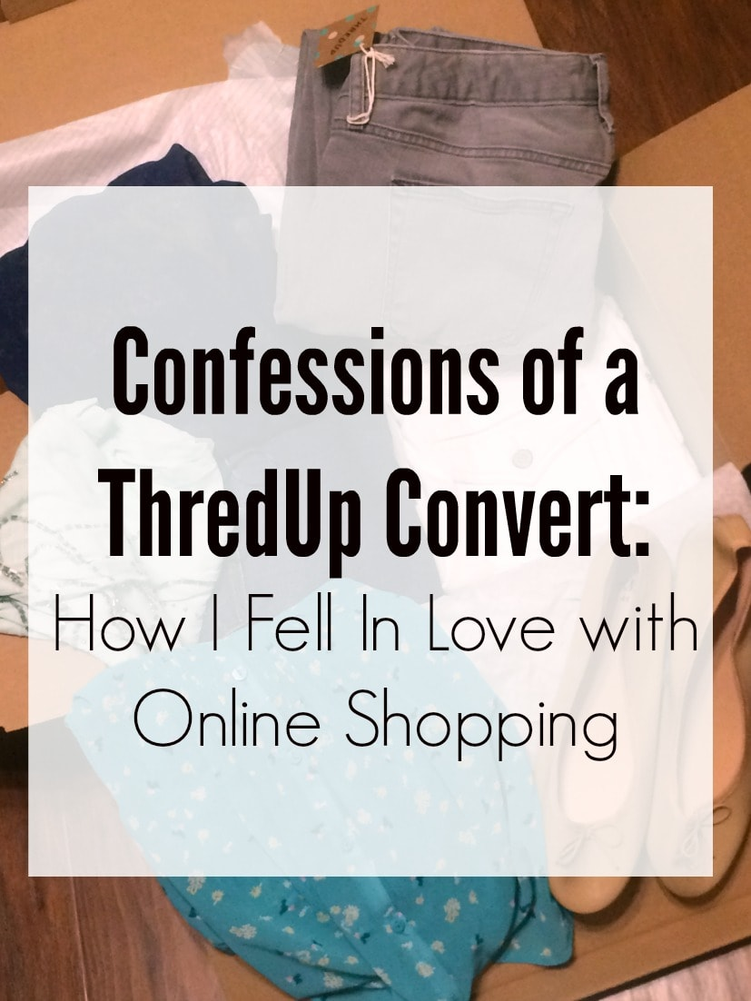 Friends have raved to me about ThredUp for years, but I recently had the opportunity to try them for the first time. ThredUp is a great resource for women's and kids' high-quality secondhand fashion (like a well curated online consignment store) – with a range of brands and up to 90% off the original retail price. I'm NOT a shopper, but I actually genuinely LOVED my ThredUp experience, and I can't wait to tell you about it!