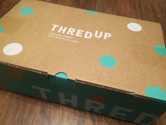 ThredUp delivery box