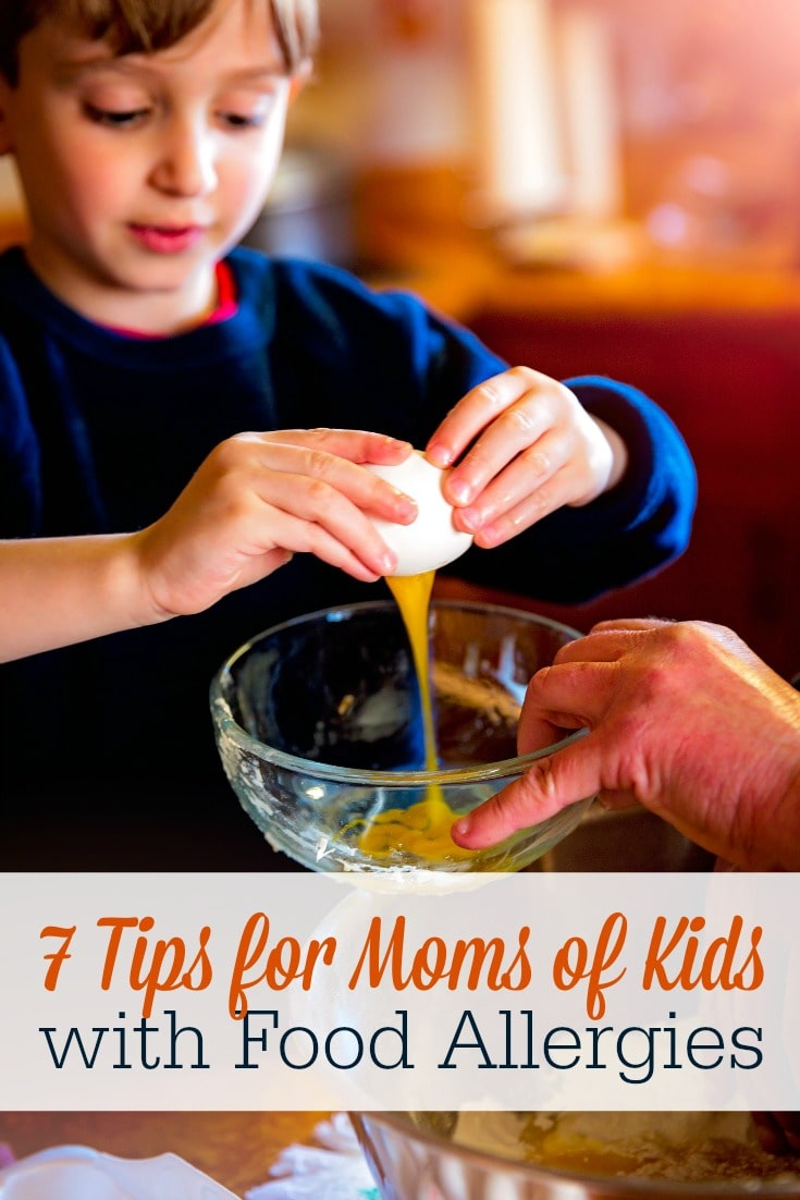Overwhelmed with your child's food allergy diagnosis? These 7 tips will help!