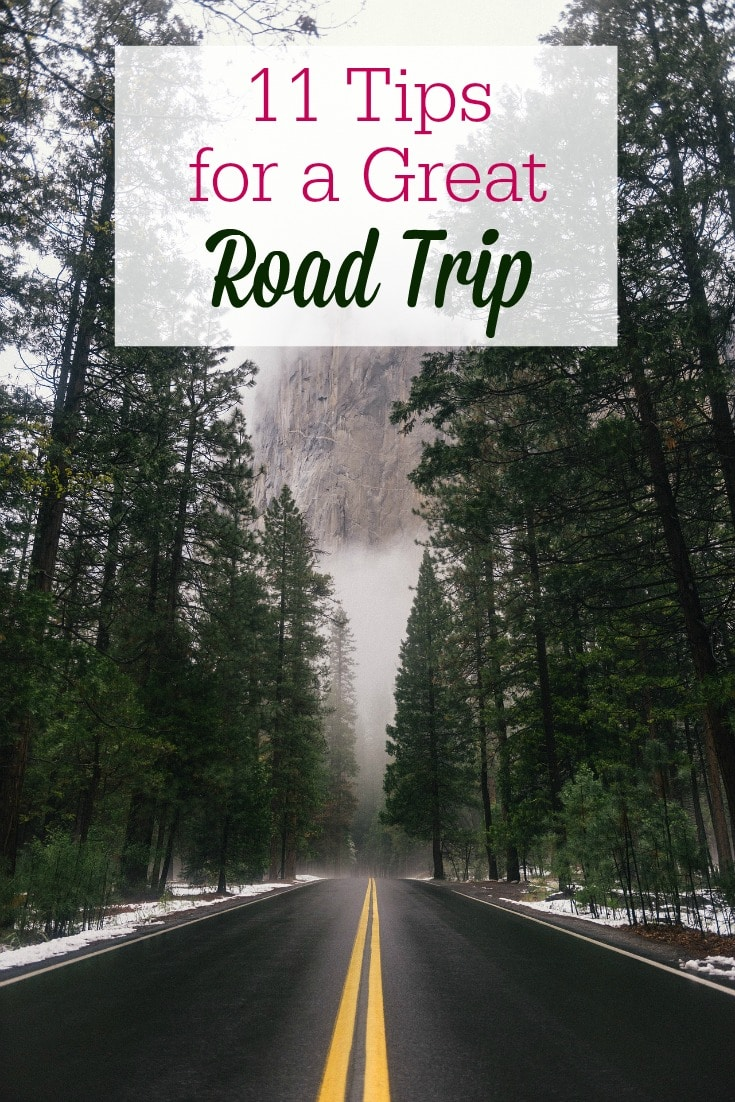 Read these 11 tips for taking the best family road trip...BEFORE you hit the road! Family car rides just got easier!