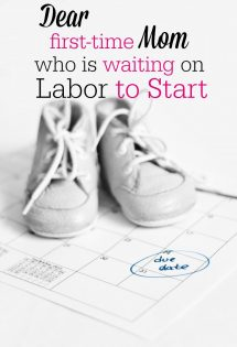 It can seem like forever when you're in the last few weeks of pregnancy and you're waiting for labor to start! I love these tips for things to do while you wait for labor to begin!