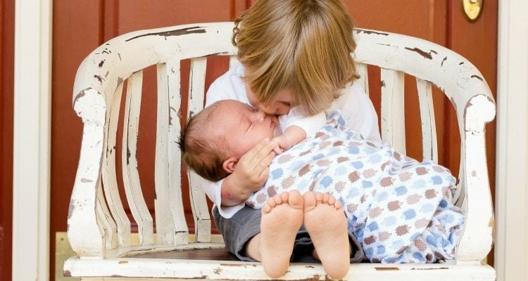 Mothering a baby and a toddler at the same time is always a challenge. Here's encouragement for the mom in the trenches!
