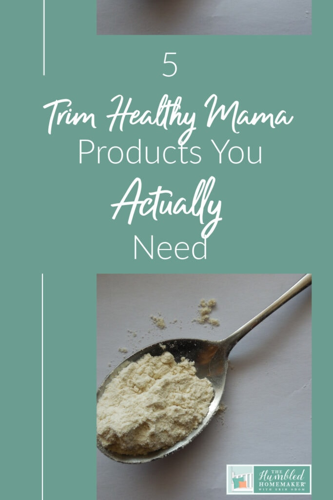 Trim Healthy Mama products you need