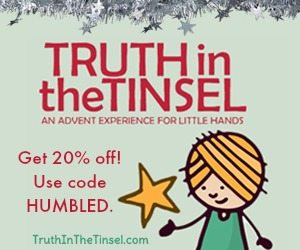 10 must have books for moms the humbled homemaker truth in the tinsel coupon code fandeluxe Images
