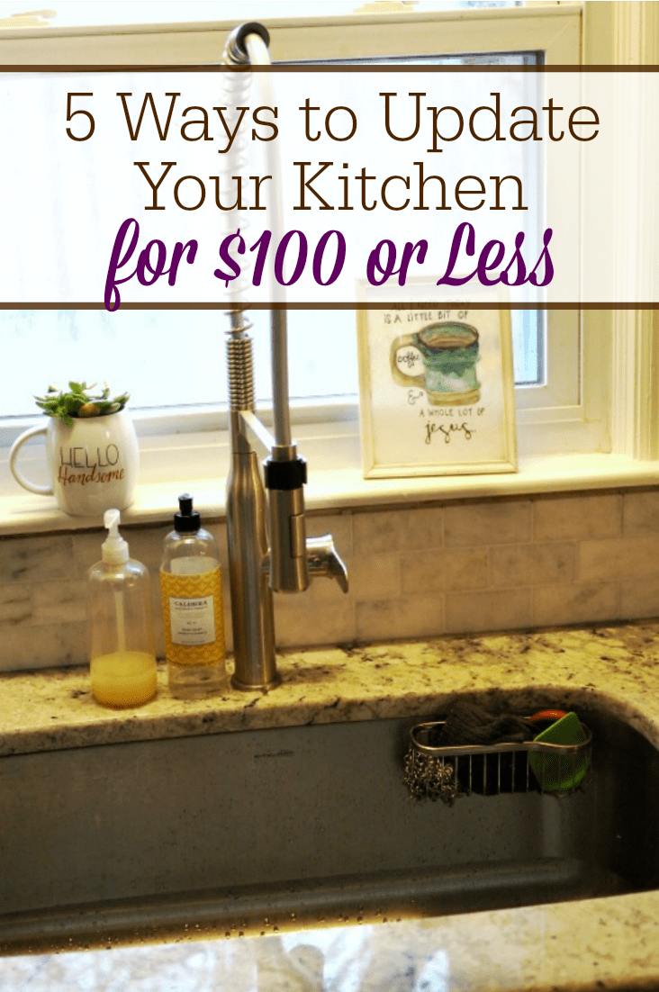 5 ways to update your kitchen for 100 or less the for Updating a kitchen