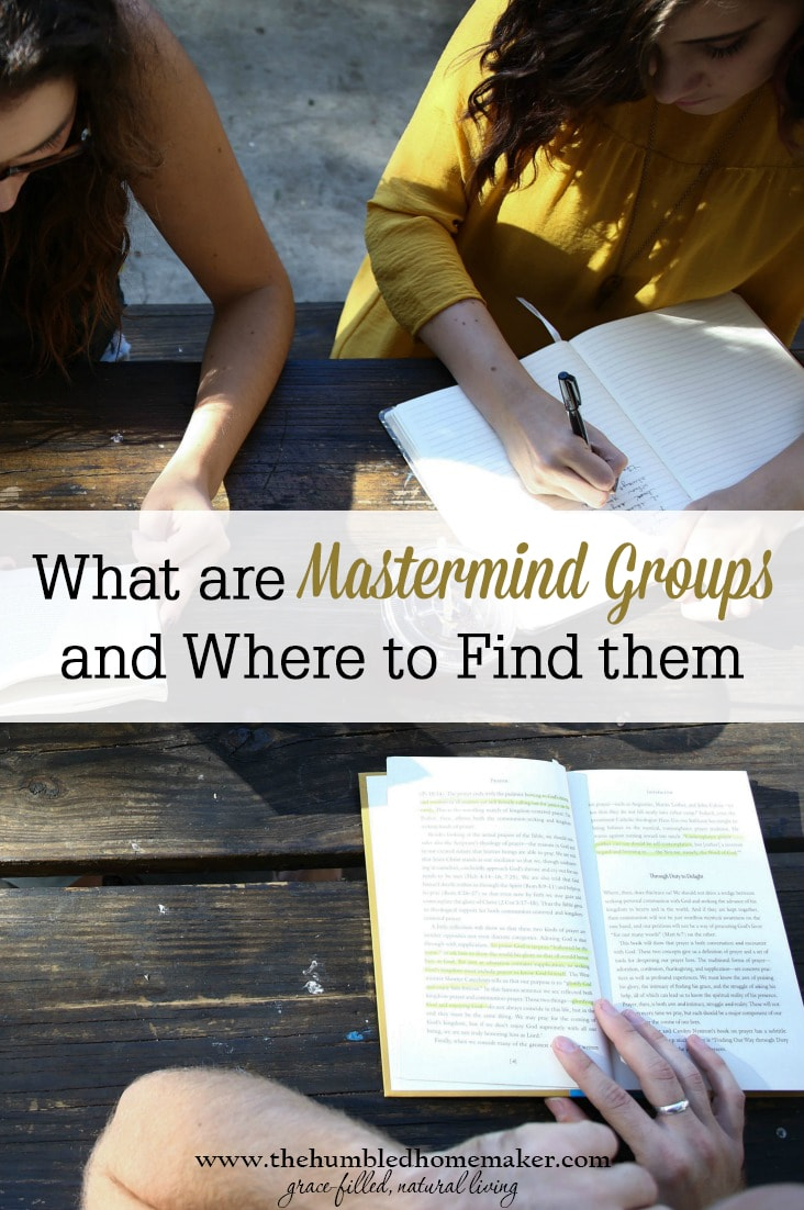 Mastermind groups can be fantastic resources for bloggers.