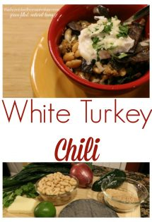 If you're looking for a comforting, warming soup that packs a bit of spice, you can't miss this white turkey chili!