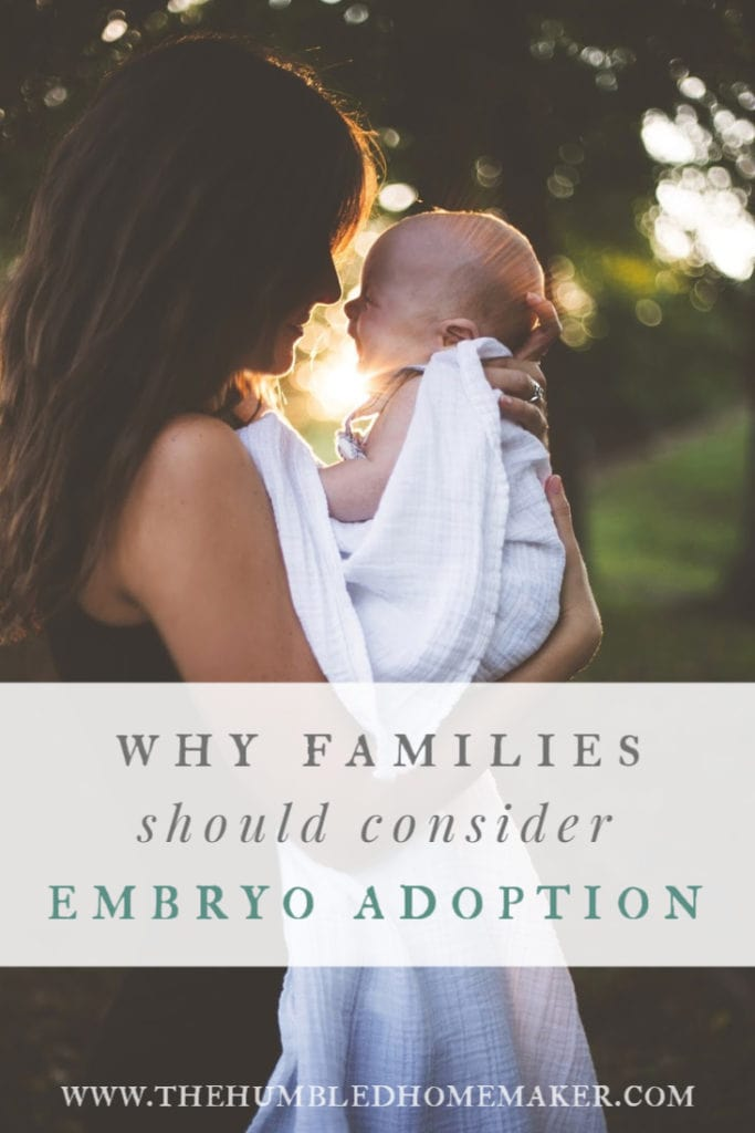 Embryo adoption gives unborn babies a chance at life--and can be a blessing for parents who are unable to conceive on their own. Here are two embryo adoption stories from different families who felt called to adopt in this unique way!