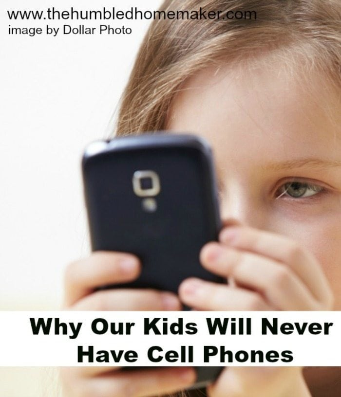 Choosing when children get cell phones is very important - a more important decision than many parents treat it.