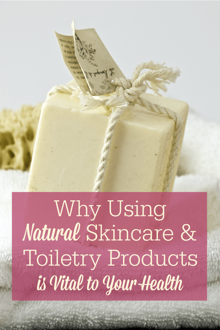 Switching to natural skincare and toiletry products will decrease your toxic load--and make your skin look better! Here are some of the most common ingredients to avoid in conventional skincare, plus recommendations for natural skincare you can make or buy.