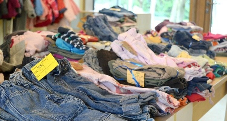 Children's consignment sales can be a profitable side income for moms--and they're a whole lot of fun!