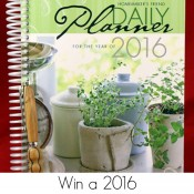 Win a Homemaker's Friend Planner!