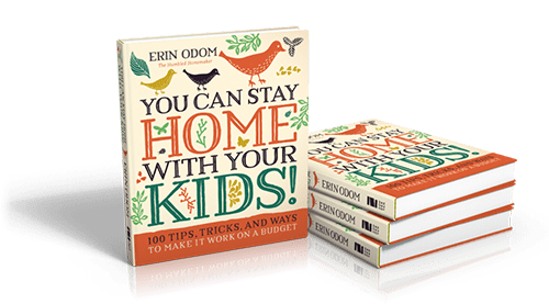 My new book gives 100 tips for working moms who want to stay home with their kids!