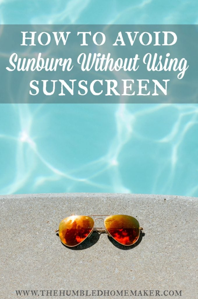 Believe it or not, it really IS possible to avoid sunburn without using sunscreen!