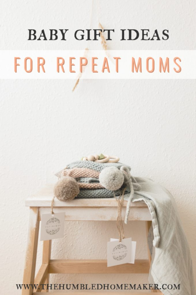 Baby Gift Ideas for Repeat Moms