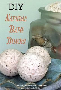 Bath bombs are all the rage, but it's hard to find them without yucky ingredients. These DIY natural bath bombs are moisturizing, luxurious, and toxin-free!