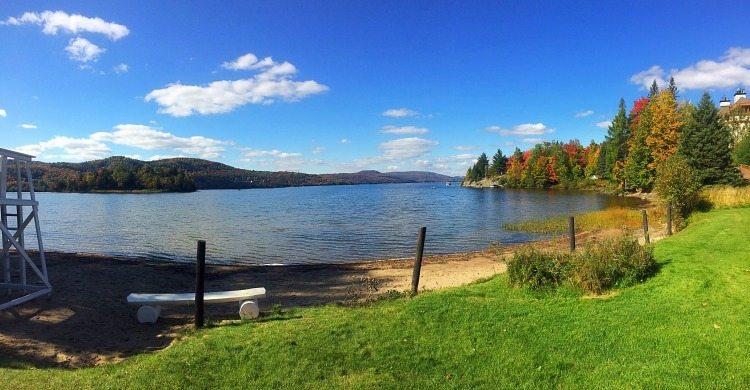 a good walk around a lake