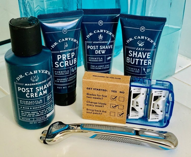 better, cleaner shave with blades in the box