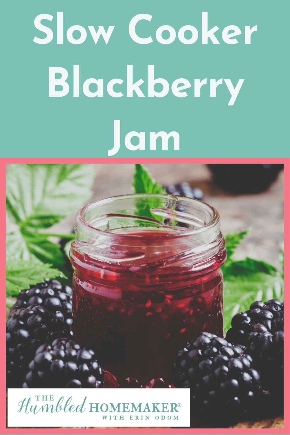 Here is a recipe for making simple, delicious blackberry jam in the crock pot or slow cooker. Use fresh blackberries or any in-season berry for this recipe.