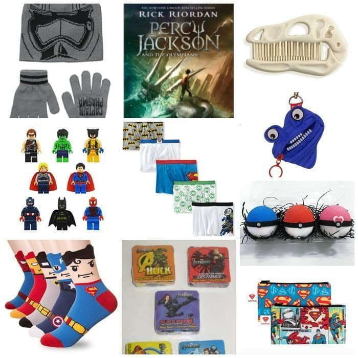 Stocking stuffer ideas for boys!