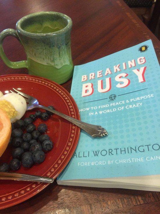breaking busy breakfast